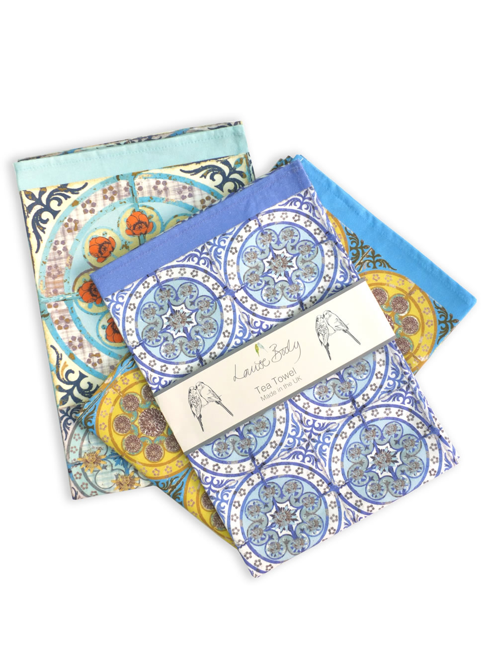 Mixed pack tea towels 1