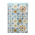 Mixed Folk tea towel,