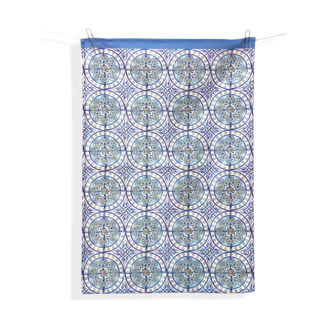 Old Blue tea towel 3 pack,