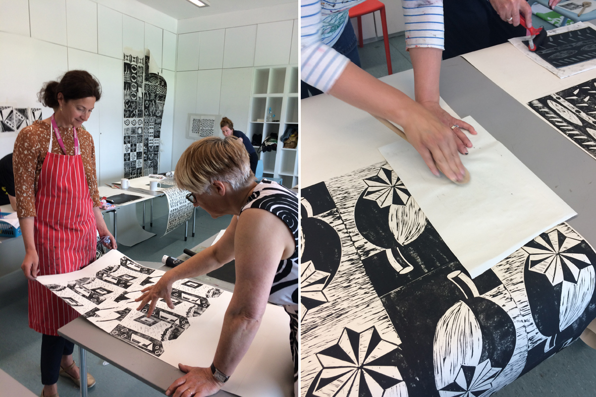 Wallpaper printing workshops