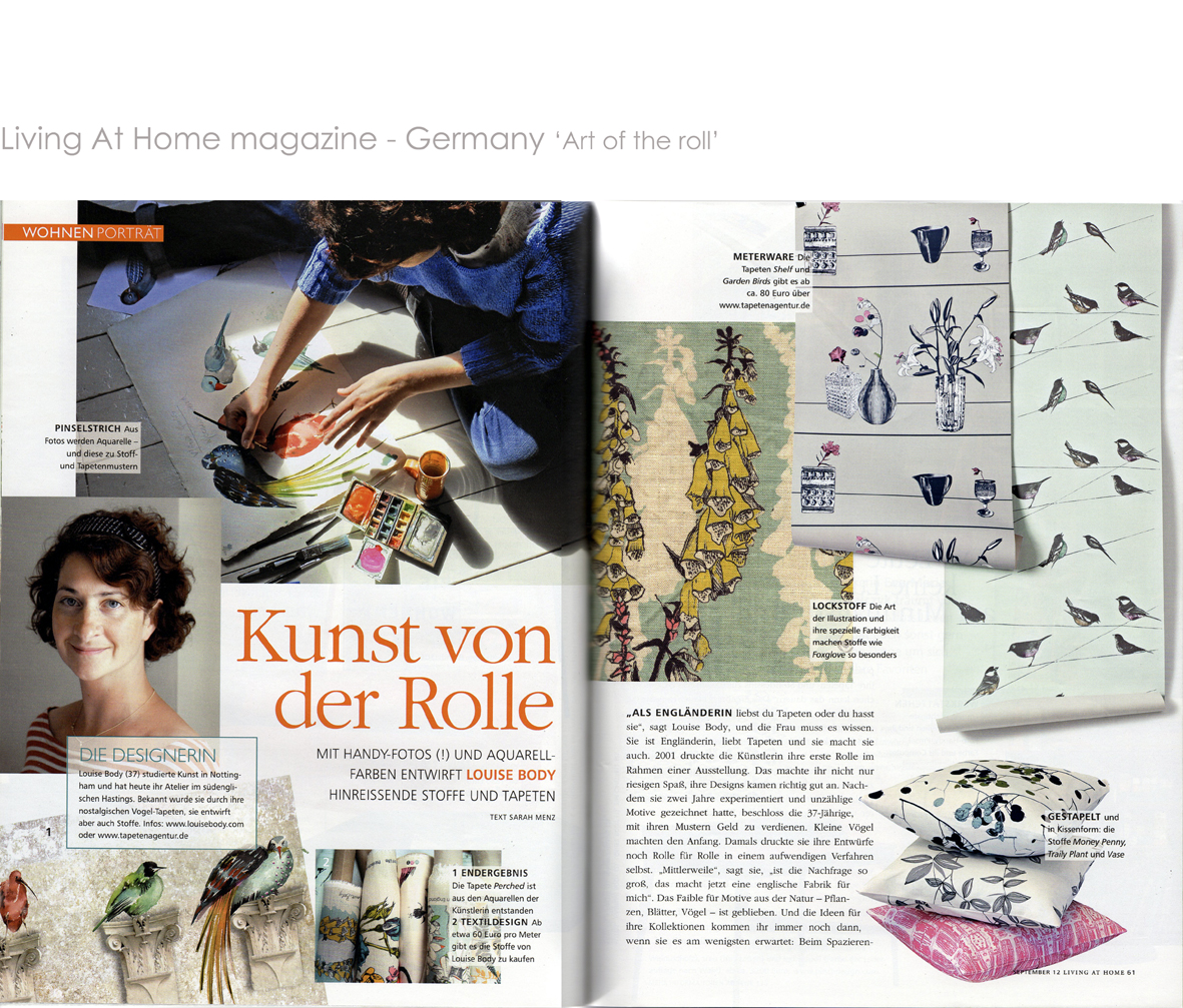 Living At Home Magazine Article