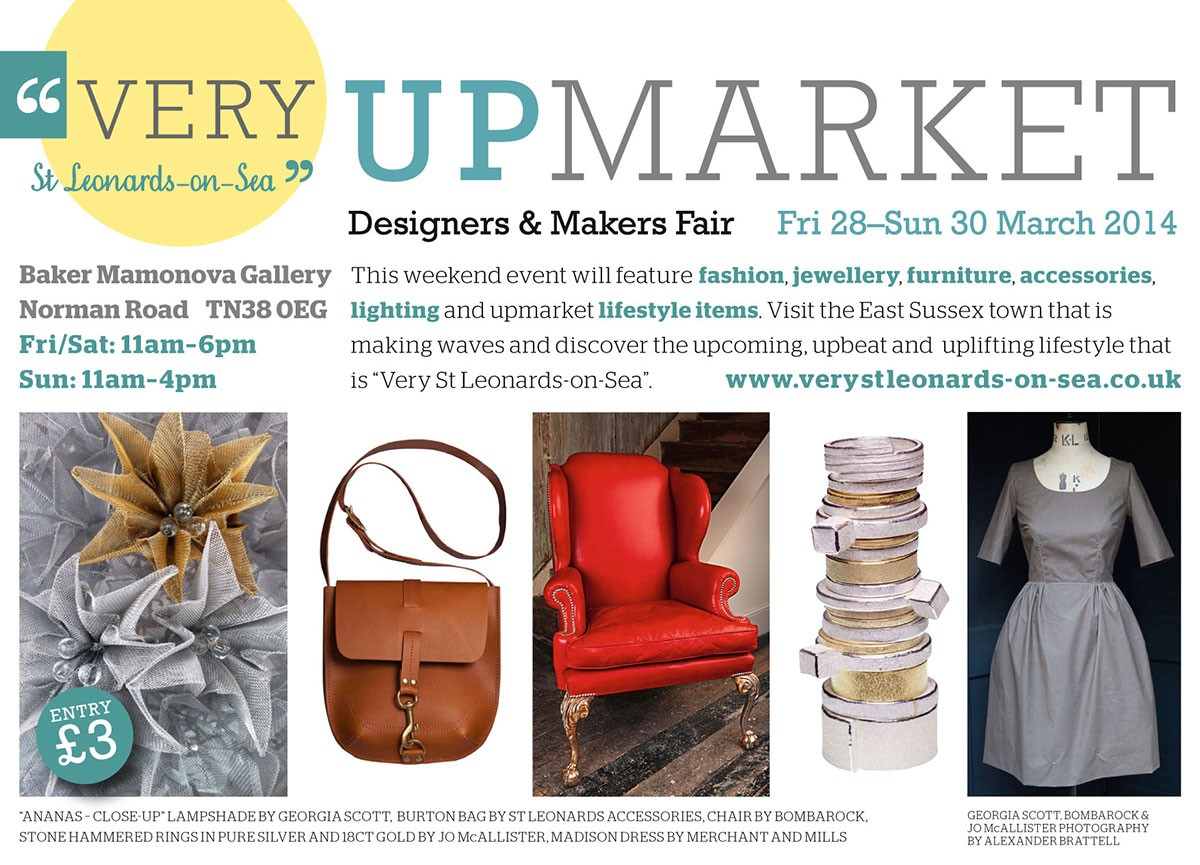 Up Market-Very St Leonards 29-30 March