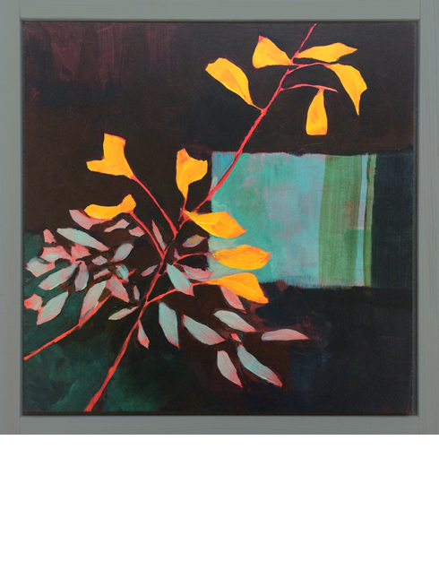 Dogwood and Sage. original paintings.