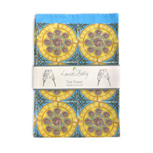Dhalia tea towel. Tea_Towels