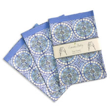Old Blue tea towel 3 pack. tea%20towels