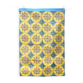 Dhalia tea towel. tea towels.