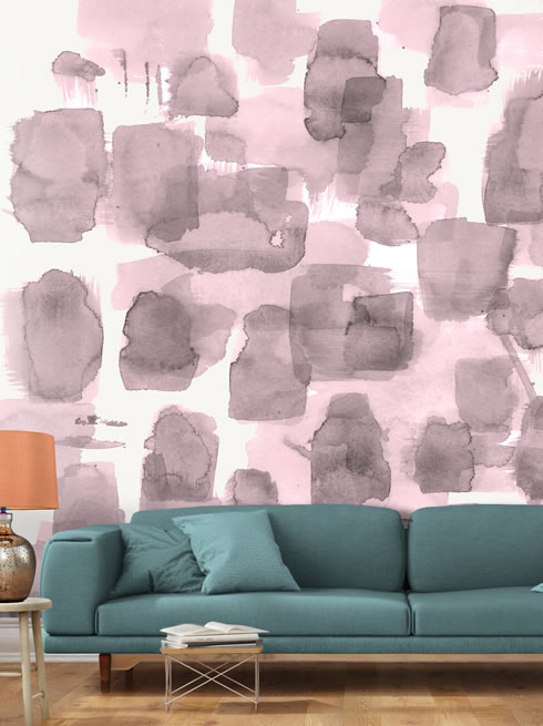 Abstract Wall Pink. wallpaper. Main Image