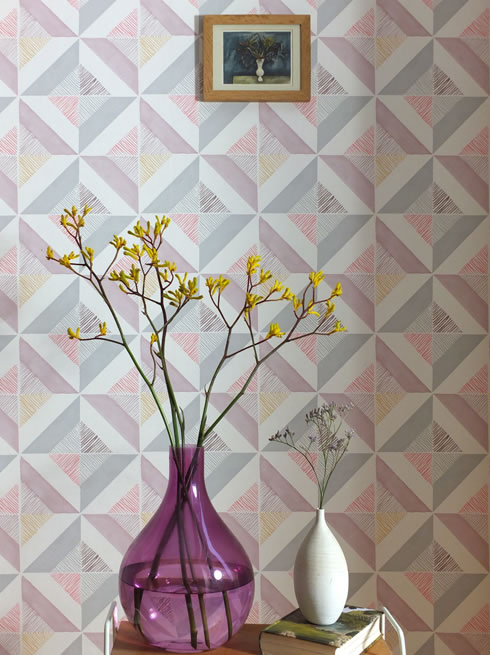 Firle Tile. wallpaper.