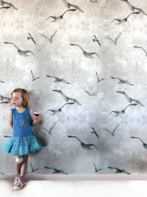 Flight chalk. wallpaper.