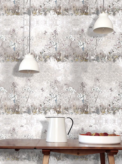 Meadow chalk. wallpaper.