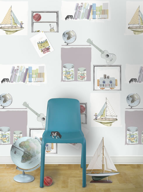 Toy Shelf For Boys. wallpaper.