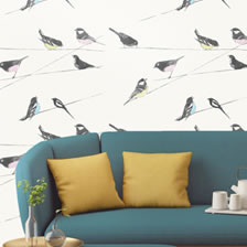Garden Birds Stone. wallpaper