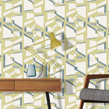Shapes Ochre. wallpaper