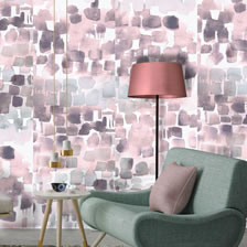 Watercolour wallpaper Plum. wallpaper