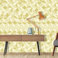 Cuboid Yellow Ochre. wallpaper.